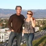 Hosts Joel Greene and Melissa Duke