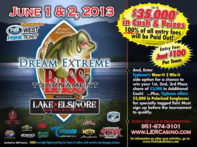 You are missing out if you have not signed up for this amazing tournament. Come sign up and enjoy a full weekend of fun with a FREE kids fishing derby on Sunday.