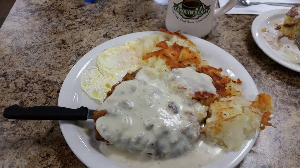 Carolyns country fried steak