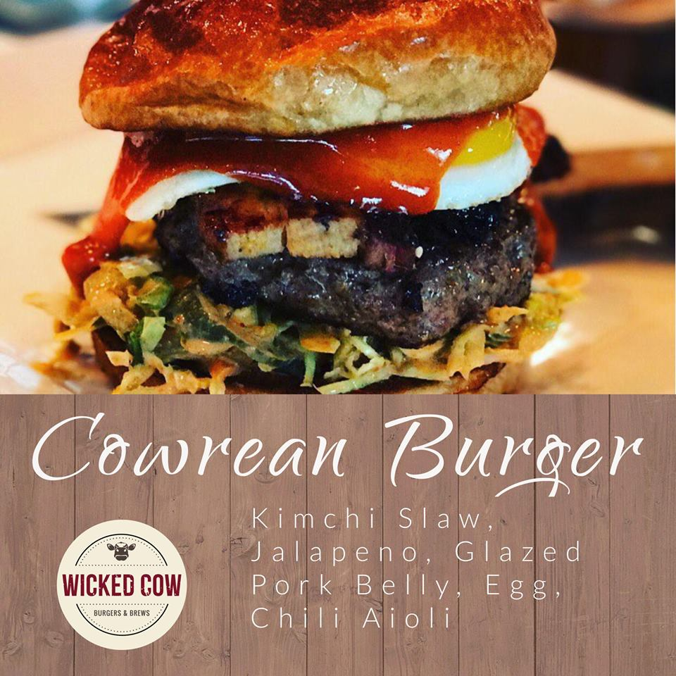 Wicked Cow Cow Rean Burger