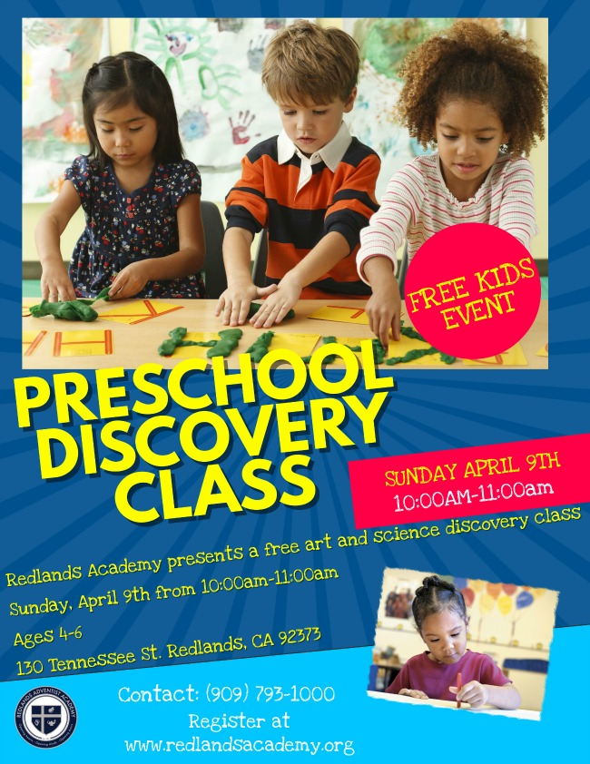 April Discovery Day Flyer