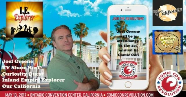 Comic Con Joel FI