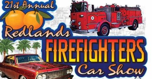 Redlands Firefighters Car Show