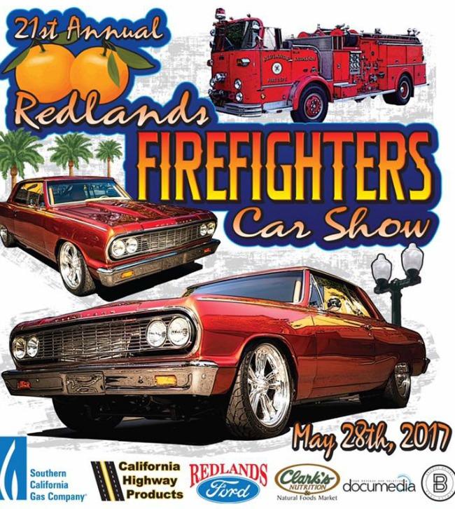 redlands fire car show