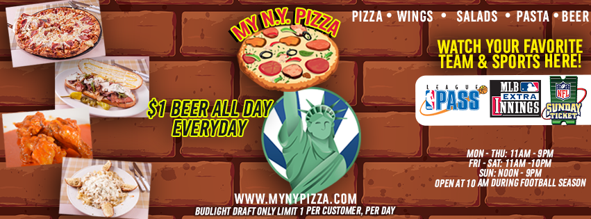 my ny pizza header