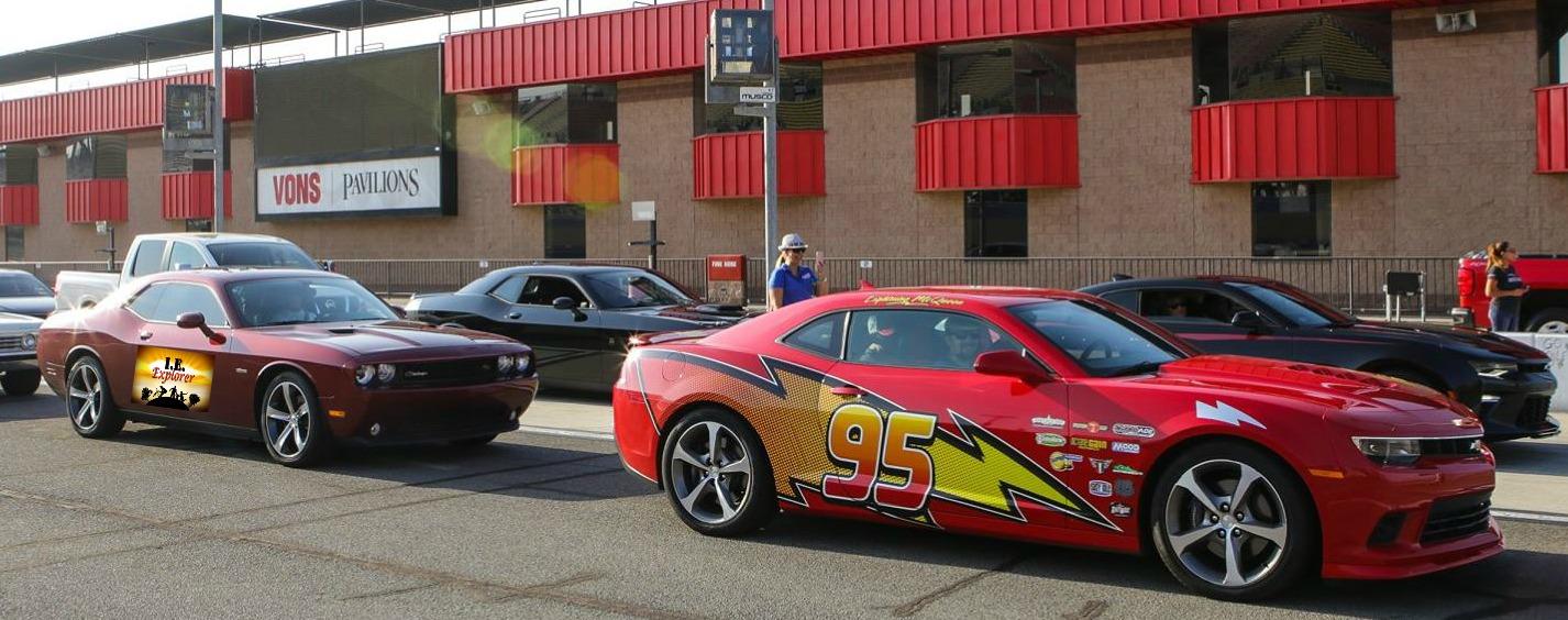 Joel and Lightning McQueen