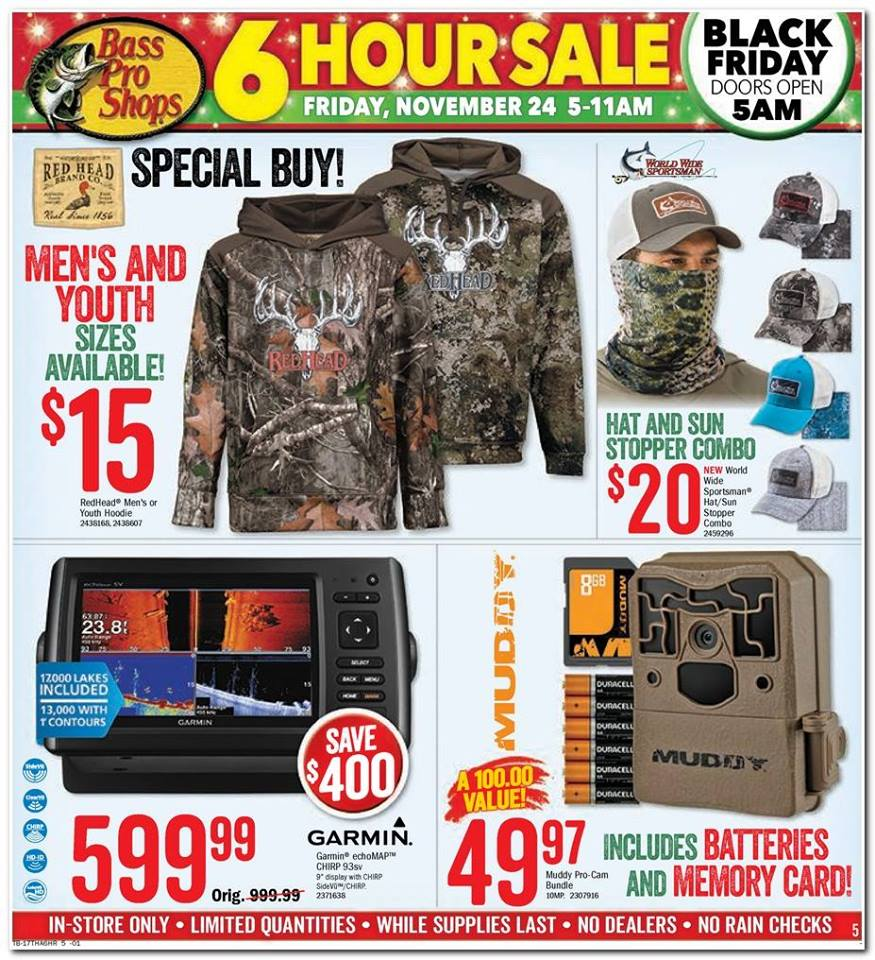 bass pro shop black friday