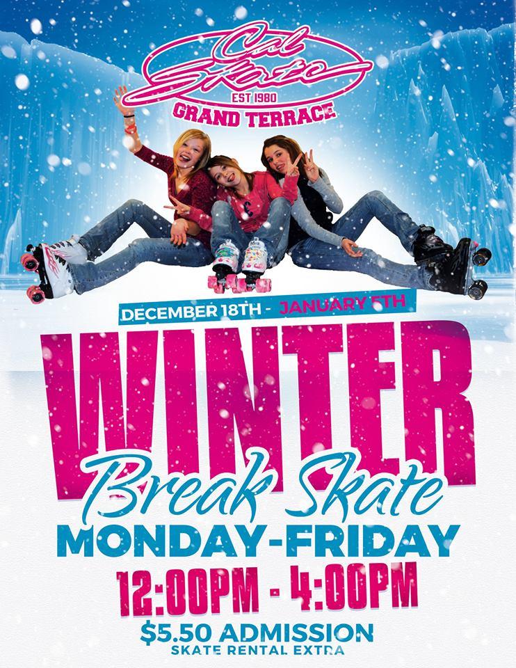 cal skate winter skate