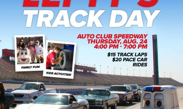 DRIVE YOUR OWN CAR ON A NASCAR TRACK AT AUTO CLUB SPEEDWAY TO BENEFIT LOCAL ELEMENTARY SCHOOLS