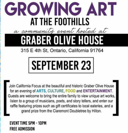 First Annual Growing Arts at the Foothills