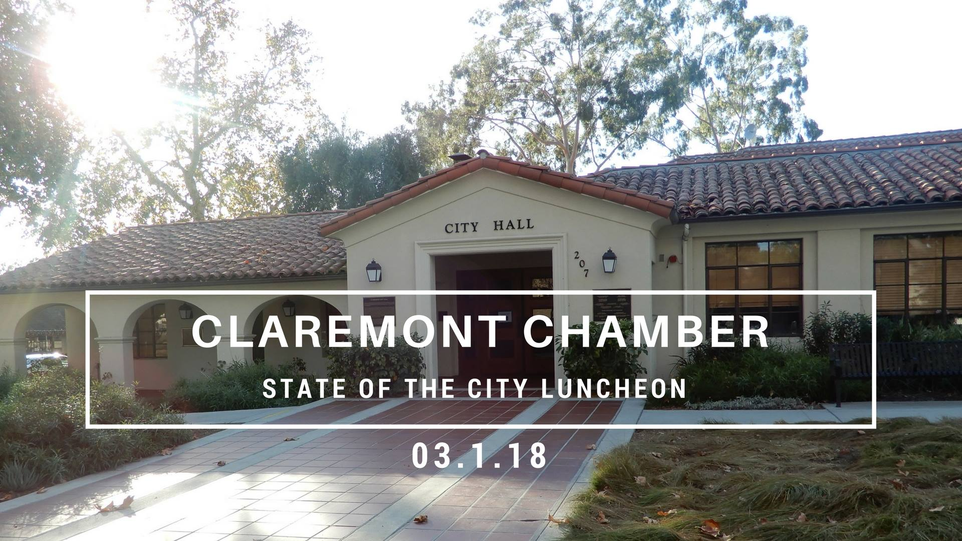 Claremont Chamber State of the City Luncheon