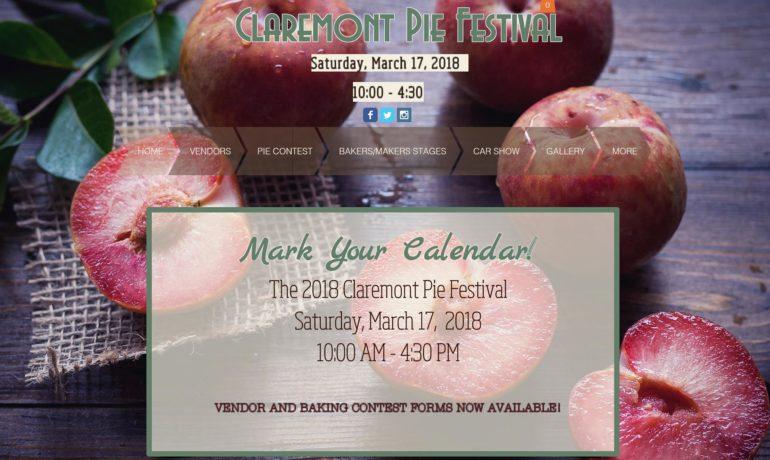 Claremont Pie Festival 2018