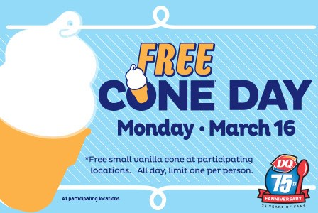 Free Cone Day @ Dairy Queen #conewithme