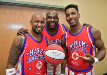 Watch Joel Green Play Basketball With The Globetrotters