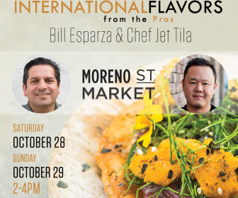 Celebrity Chef Jet Tila and Food Expert Bill Esparza Host Culinary Weekend at Montclair Place