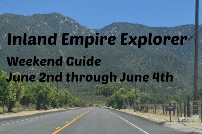 Weekend Events June 2nd through June 4th