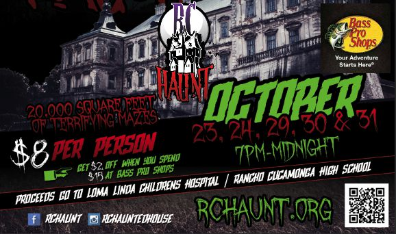 Get Your Scare On At The RC Haunted House