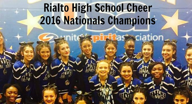 Rialto High Clinches The Schools 1st National Title