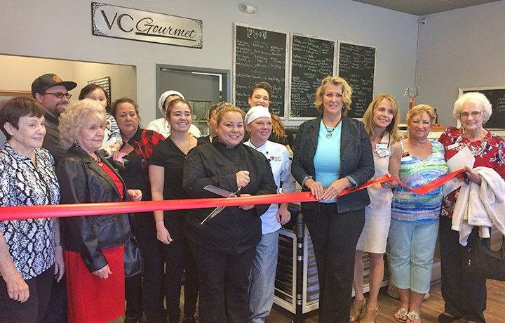 VC Gourmet One Year Anniversary Ribbon Cutting Ceremony!