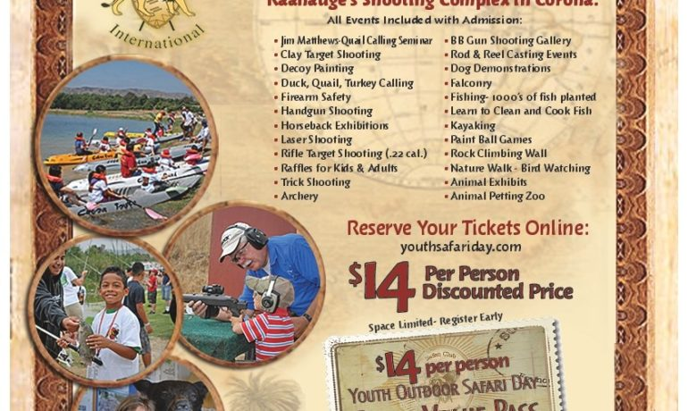 19th Annual Youth Safari Day Coming to Raahauge's Shooting Complex