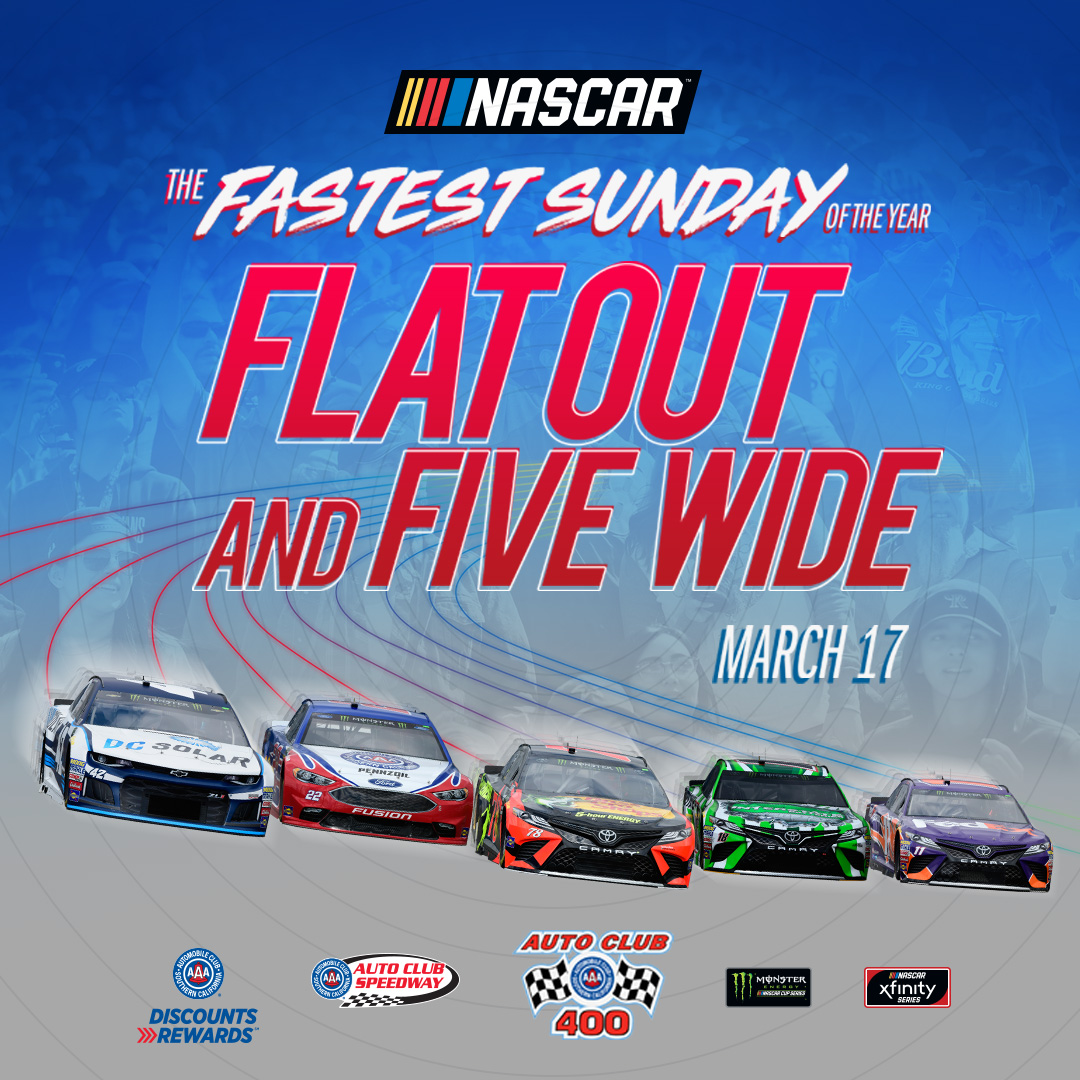 AUTO CLUB SPEEDWAY PLANNING HISTORIC EVENT TO SALUTE FANS AND RACING COMMUNITY AT NASCAR AUTO CLUB 400